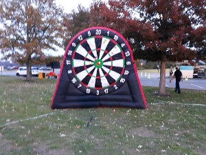 10ft Inflatable Dart Board