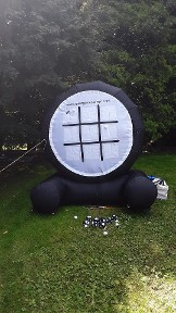 Giant Tic-Tac-Toe / Basketball